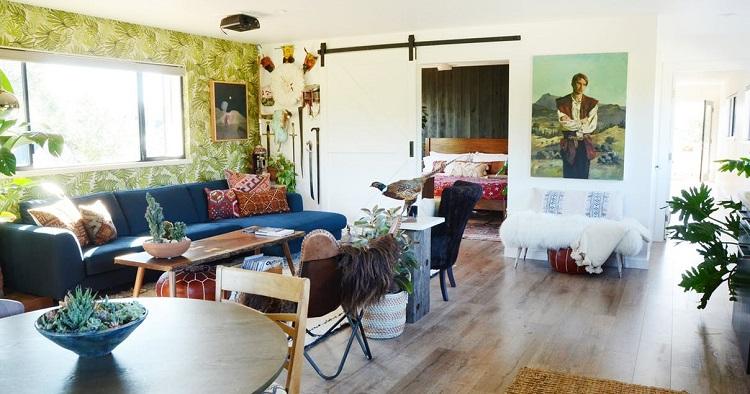 Décoration appartement végétal - home tour - lelabonet